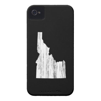 Distressed Idaho State Outline iPhone 4 Cases