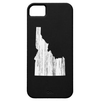 Distressed Idaho State Outline iPhone 5 Cover