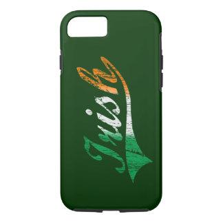 Distressed 'Irish' Flag iPhone 7 case