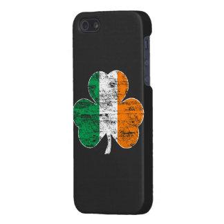 Distressed Irish Flag Shamrock iPhone 5 Case