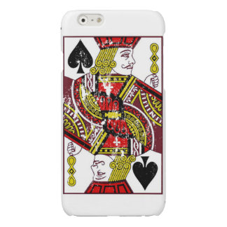 Distressed Jack of Spades Case iPhone 6 Plus Case