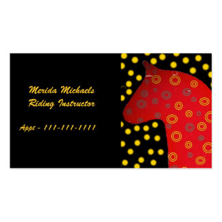 Distressed Look Dala Horse Pack Of Standard Business Cards