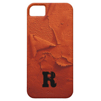Distressed Look, Monogrammed iPhone 5 Cover