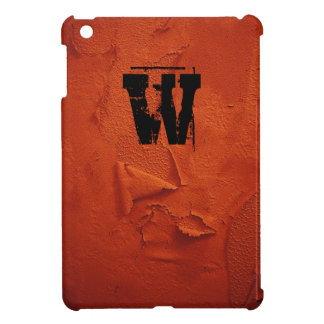 Distressed Look, Monogrammed Case For The iPad Mini