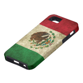 Distressed Mexican Flag iPhone 5 Cases