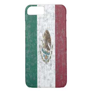 Distressed Mexican Flag iPhone 7 Slim Case