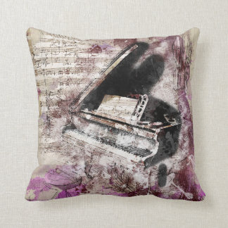 Distressed Musical Pillow