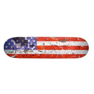 Distressed Nations - America (skateboard) Custom Skate Board