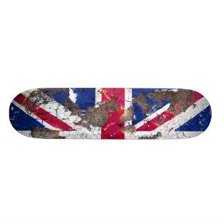 Distressed Nations - United Kingdom (skateboard) Skate Board Deck