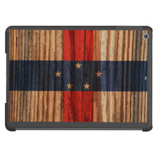 Distressed Netherlands Antilles Flag Cover For iPad Air