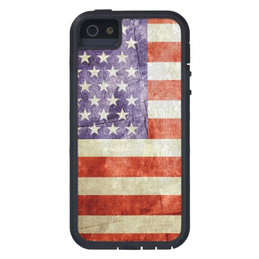 Distressed Old Glory Phone Case - SRF iPhone 5 Covers