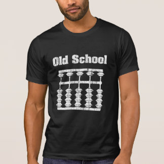 Distressed Old School Abacus Shirt