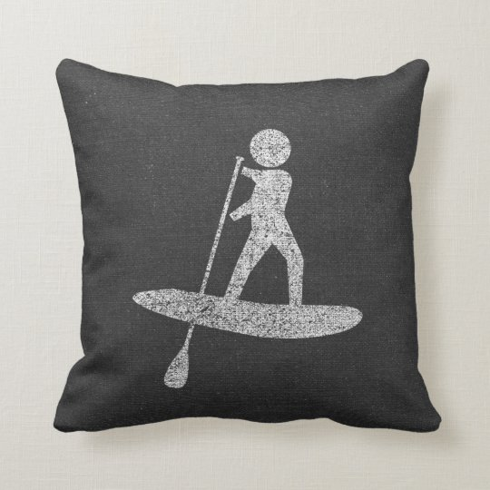 Distressed Paddleboarding Cushion