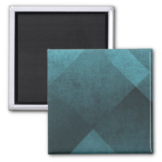 Distressed Pattern Square Magnet
