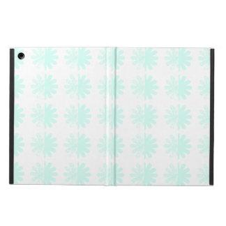 Distressed Petal Snowflake Pattern iPad Air Cover