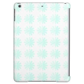 Distressed Petal Snowflake Pattern