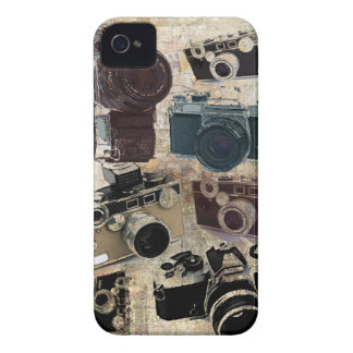 distressed photographer photography retro Camera iPhone 4 Cover