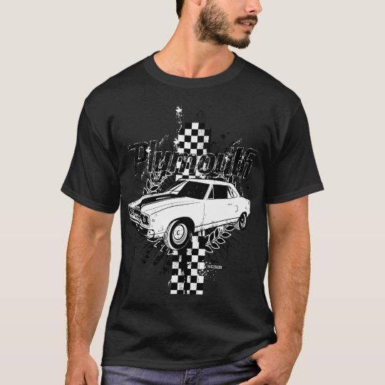 Distressed Plymouth illustration T-Shirt