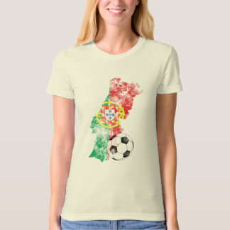 Distressed Portugal Soccer T-Shirt