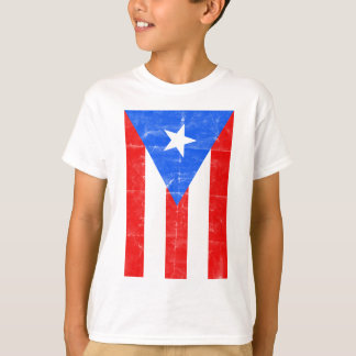 Distressed PR.png T-Shirt