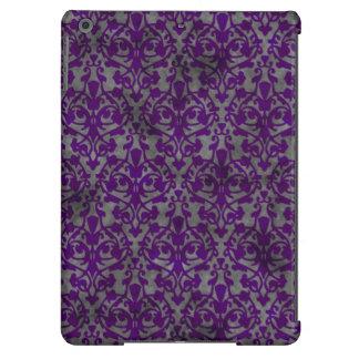 Distressed purple damask iPad Air Case