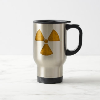 Distressed Radiation Symbol Mug