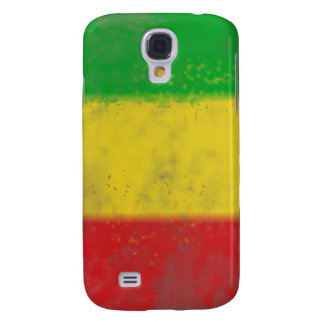 Distressed Rasta Stripes Galaxy S4 Case