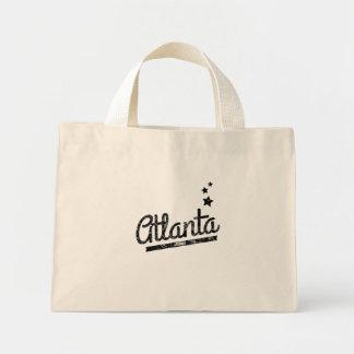 Distressed Retro Atlanta Logo Bag