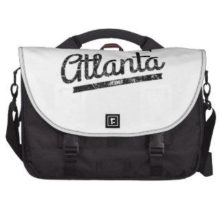 Distressed Retro Atlanta Logo Commuter Bag