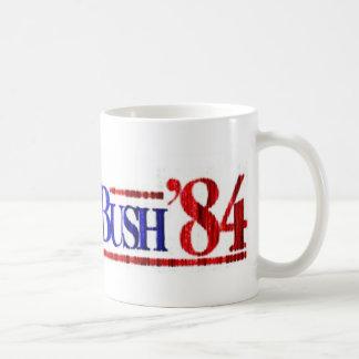Distressed Retro Reagan-Bush 1984 Coffee Mug