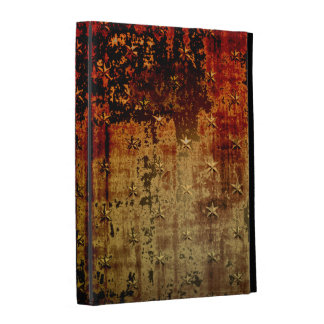 Distressed Rust Grunge iPad Case