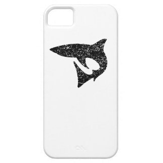 Distressed Shark Silhouette iPhone 5 Covers