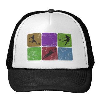 Distressed Soccer Trucker hat