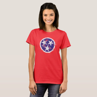 Distressed State Flag Of Tennessee T-Shirt