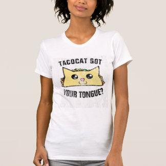 Distressed Tacocat Got Your Tongue T-Shirt