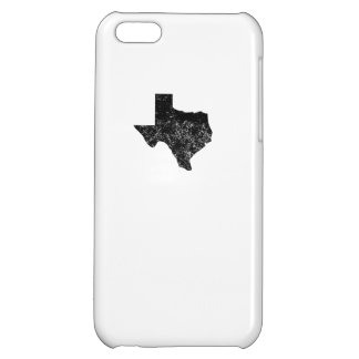 Distressed Texas Silhouette iPhone 5C Covers