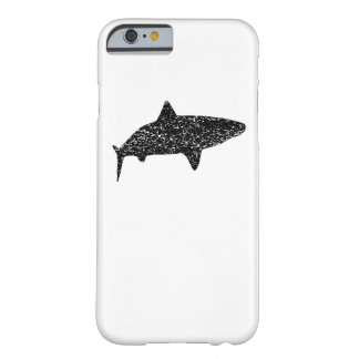 Distressed Tiger Shark Silhouette Barely There iPhone 6 Case