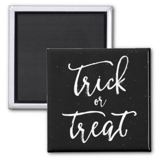 Distressed Trick Or Treat Halloween Magnet