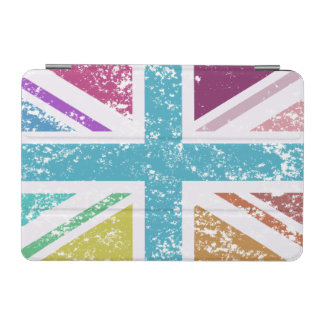 Distressed Union Flag Multicolored iPad Mini Cover