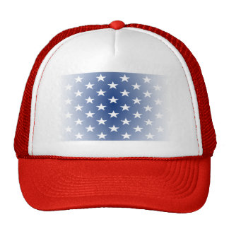 Distressed US Flag Stars Trucker Hats