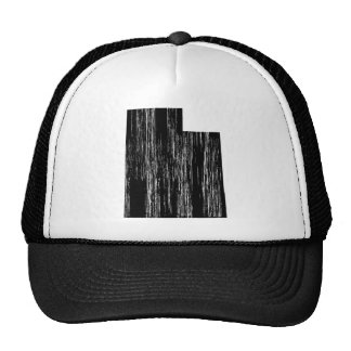 Distressed Utah State Outline Cap