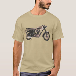 Distressed Vintage British Motorcycle Clothing T-Shirt