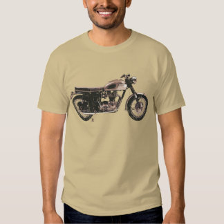 Distressed Vintage British Motorcycle Clothing T-shirts