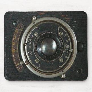 Distressed Vintage Camera Mouse Pad