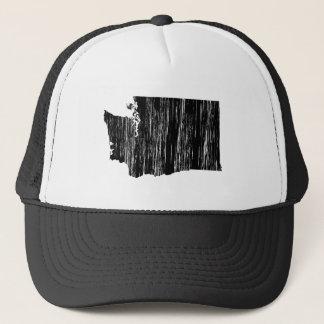 Distressed Washington State Outline Cap