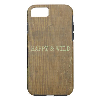 Distressed Wood Weathered Board Earthy Plank iPhone 8/7 Case