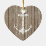 Distressed Wood with Anchor