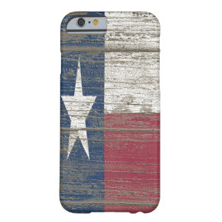 Distressed Wooden Texas Flag Iphone 6 Slim Case
