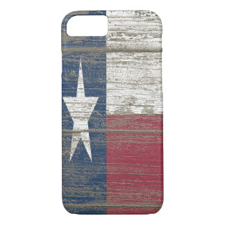 Distressed Wooden Texas Flag iPhone 7 Slim Case