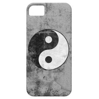 Distressed Yin Yang iPhone Case